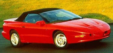 Highest Horsepower Convertibles of 1994 - 1994 Pontiac Firebird