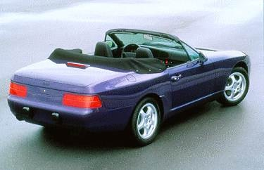 Highest Horsepower Convertibles of 1994 - 1994 Porsche 968