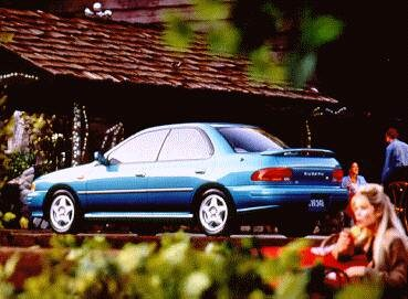 Top Consumer Rated Sedans of 1994 - 1994 Subaru Impreza