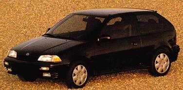 Most Fuel Efficient Hatchbacks of 1994 - 1994 Suzuki Swift