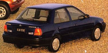 Most Fuel Efficient Sedans of 1994 - 1994 Suzuki Swift