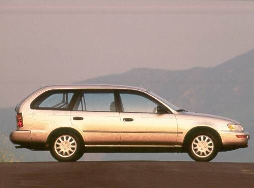 Most Fuel Efficient Wagons of 1994 - 1994 Toyota Corolla
