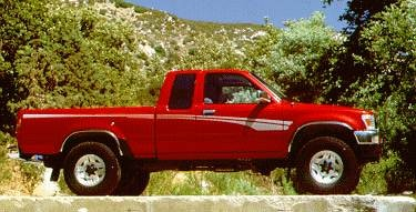 Top Consumer Rated Trucks of 1994 - 1994 Toyota Xtra Cab