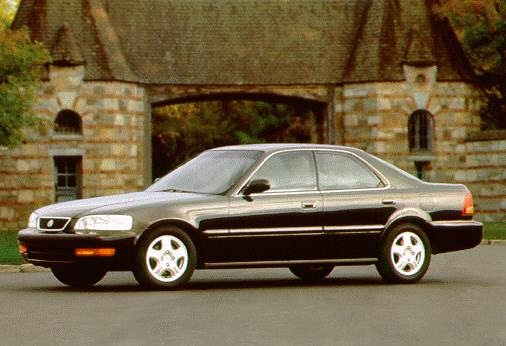 Most Fuel Efficient Luxury Vehicles of 1995 - 1995 Acura TL