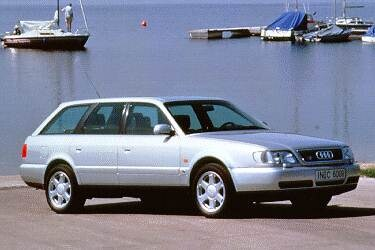 Top Consumer Rated Luxury Vehicles of 1995 - 1995 Audi S6