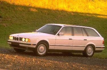 Top Consumer Rated Wagons of 1995 - 1995 BMW 5 Series