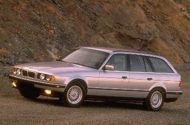 Highest Horsepower Wagons of 1995 - 1995 BMW 5 Series