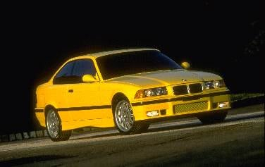 Top Consumer Rated Coupes of 1995 - 1995 BMW M3