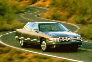 Most Popular Luxury Vehicles of 1995 - 1995 Cadillac DeVille