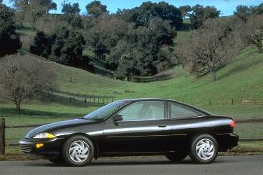Most Popular Coupes of 1995 - 1995 Chevrolet Cavalier