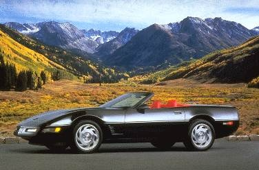 Top Consumer Rated Convertibles of 1995 - 1995 Chevrolet Corvette