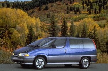 Most Fuel Efficient Van/Minivans of 1995 - 1995 Chevrolet Lumina Passenger