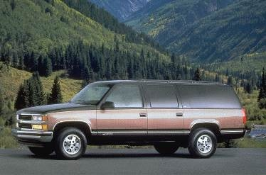 Most Popular SUVS of 1995 - 1995 Chevrolet Suburban 1500