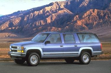 Most Popular SUVS of 1995 - 1995 Chevrolet Suburban 2500