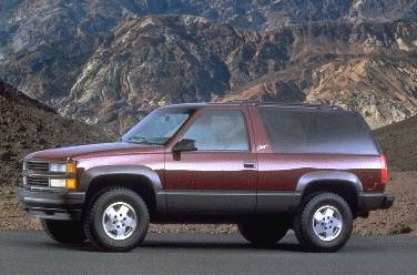 Most Popular SUVS of 1995 - 1995 Chevrolet Tahoe