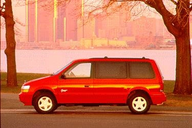 Most Fuel Efficient Van/Minivans of 1995 - 1995 Dodge Caravan Passenger