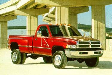 Most Popular Trucks of 1995 - 1995 Dodge Ram 3500 Regular Cab