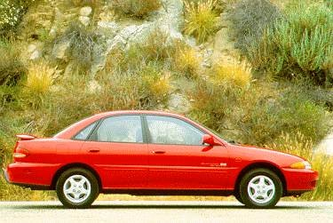 Most Fuel Efficient Coupes of 1995 - 1995 Eagle Summit