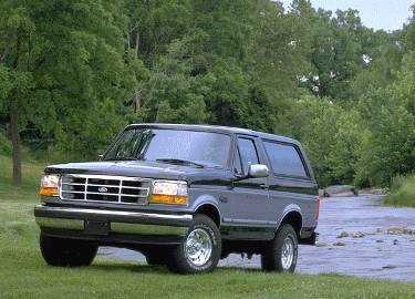 Highest Horsepower SUVS of 1995 - 1995 Ford Bronco