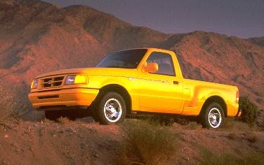Most Fuel Efficient Trucks of 1995 - 1995 Ford Ranger Regular Cab