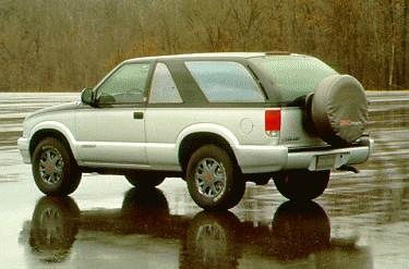 Most Fuel Efficient SUVS of 1995 - 1995 GMC Jimmy