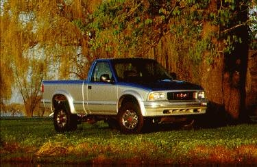 Most Fuel Efficient Trucks of 1995 - 1995 GMC Sonoma Regular Cab