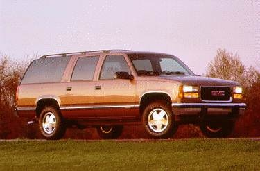 Highest Horsepower SUVS of 1995 - 1995 GMC Suburban 2500