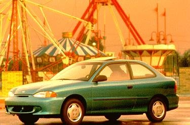 Most Fuel Efficient Hatchbacks of 1995 - 1995 Hyundai Accent