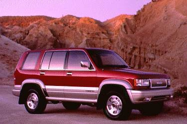 Top Consumer Rated SUVS of 1995 - 1995 Isuzu Trooper