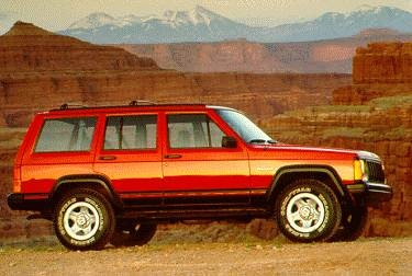 Top Consumer Rated SUVS of 1995 - 1995 Jeep Cherokee