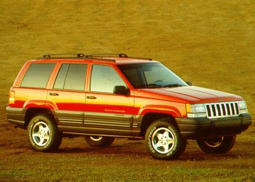 Most Fuel Efficient SUVS of 1995 - 1995 Jeep Grand Cherokee
