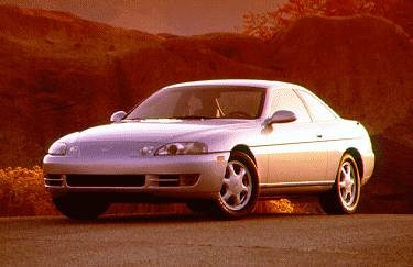 Most Popular Luxury Vehicles of 1995 - 1995 Lexus SC