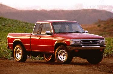 Most Fuel Efficient Trucks of 1995 - 1995 MAZDA B-Series Cab Plus