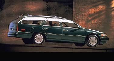 Most Fuel Efficient Wagons of 1995 - 1995 Mercury Sable