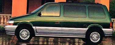 Most Fuel Efficient Van/Minivans of 1995 - 1995 Plymouth Voyager