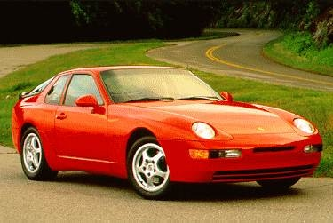 Top Consumer Rated Coupes of 1995 - 1995 Porsche 968