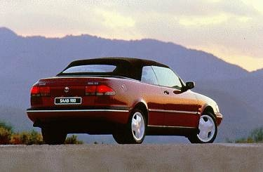 Most Fuel Efficient Convertibles of 1995 - 1995 Saab 900