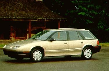 Most Fuel Efficient Wagons of 1995 - 1995 Saturn S-Series