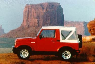 Top Consumer Rated SUVS of 1995 - 1995 Suzuki Samurai