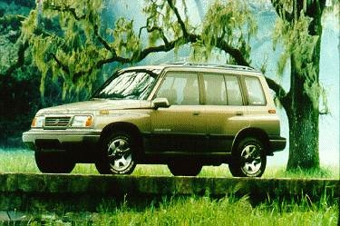 Most Fuel Efficient SUVS of 1995 - 1995 Suzuki Sidekick