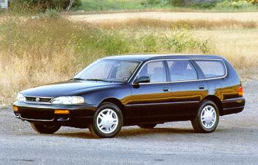 Most Fuel Efficient Wagons of 1995 - 1995 Toyota Camry