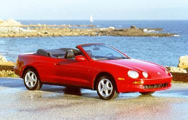 Top Consumer Rated Convertibles of 1995 - 1995 Toyota Celica