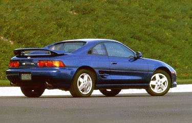 Top Consumer Rated Coupes of 1995 - 1995 Toyota MR2
