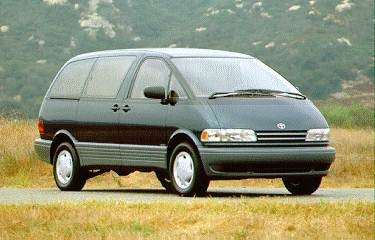 Most Fuel Efficient Van/Minivans of 1995 - 1995 Toyota Previa