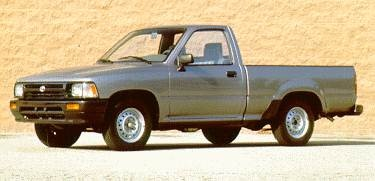 Most Fuel Efficient Trucks of 1995 - 1995 Toyota Regular Cab