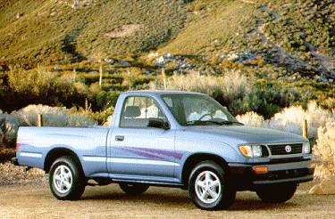 Most Fuel Efficient Trucks of 1995 - 1995 Toyota Tacoma Regular Cab