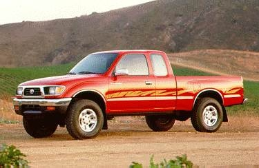 Most Popular Trucks of 1995 - 1995 Toyota Tacoma Xtracab