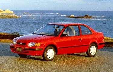 Most Fuel Efficient Coupes of 1995 - 1995 Toyota Tercel