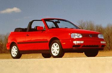Most Fuel Efficient Convertibles of 1995 - 1995 Volkswagen Cabrio