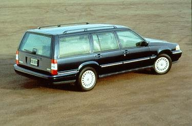 Top Consumer Rated Wagons of 1995 - 1995 Volvo 960